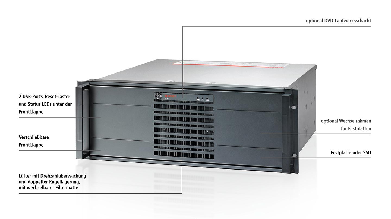 C5240-0000 | 19-Zoll-Einschub-Industrie-PC