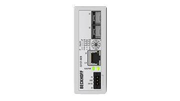 CU1521-0020 | Infrastruktur, Medienkonverter, Ethernet/EtherCAT, 100MBit/s, 24VDC, SFP-Slot