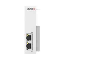 CX2500-0062 | 2.5 G Ethernet module for CX20x2, CX20x3, CX52x0