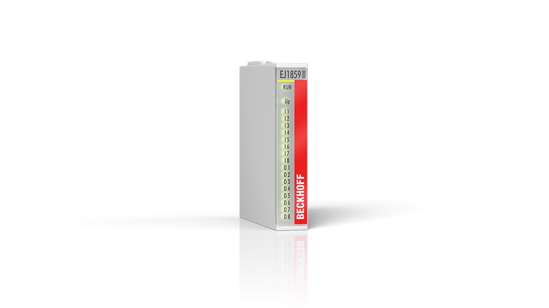 EJ1859 | EtherCAT plug-in module, 8-channel digital input + 8-channel digital output, 24VDC, 3ms, 0.5A