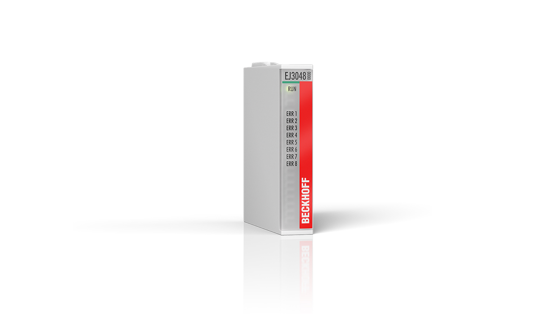 EJ3048   8-channel analog input terminal 0…20mA, single-ended, 12bit