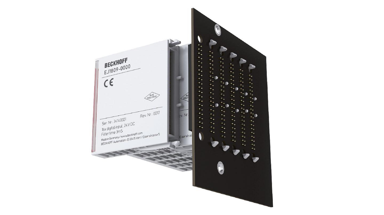 EJ1008   EtherCAT plug-in module, 8-channel digital input, 24VDC, 3ms