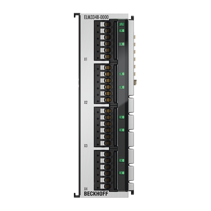 ELM3348-0000 | EtherCAT Terminal, 8-channel analog input, temperature, thermocouple, 24 bit, high-precision, 1 kSps