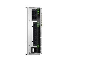 ELM7231-9016 | EtherCAT Terminal, 1-channel motion interface, servo motor, 48VDC, 16A, OCT, STO, TwinSAFE Logic