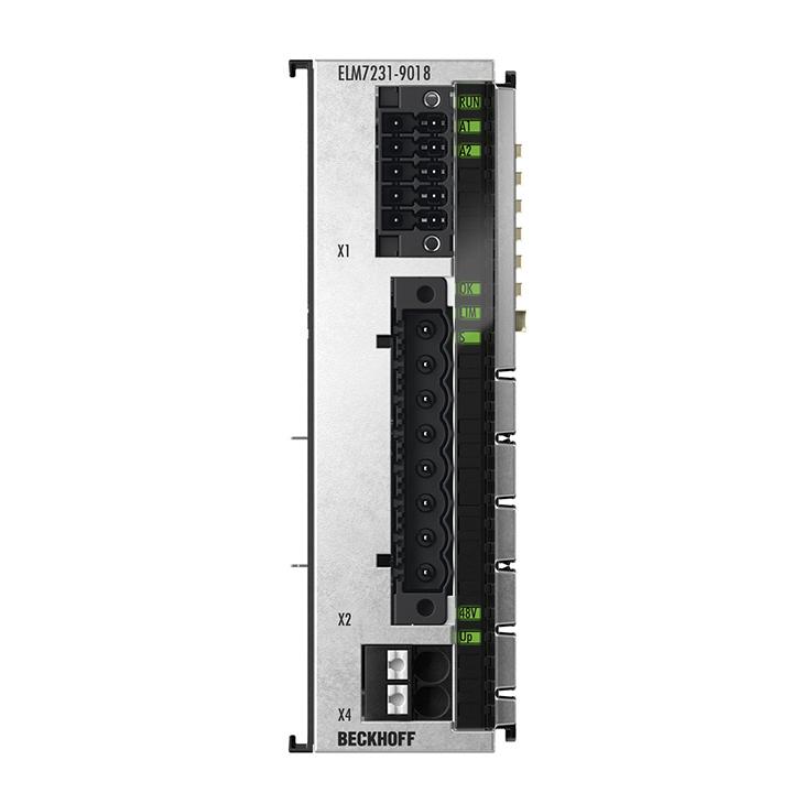 ELM7231-9018 | EtherCAT-Klemme, 1-Kanal-Motion-Interface, Servomotor, 48VDC, 16A, OCT, STO, Safe Motion, TwinSAFE Logic