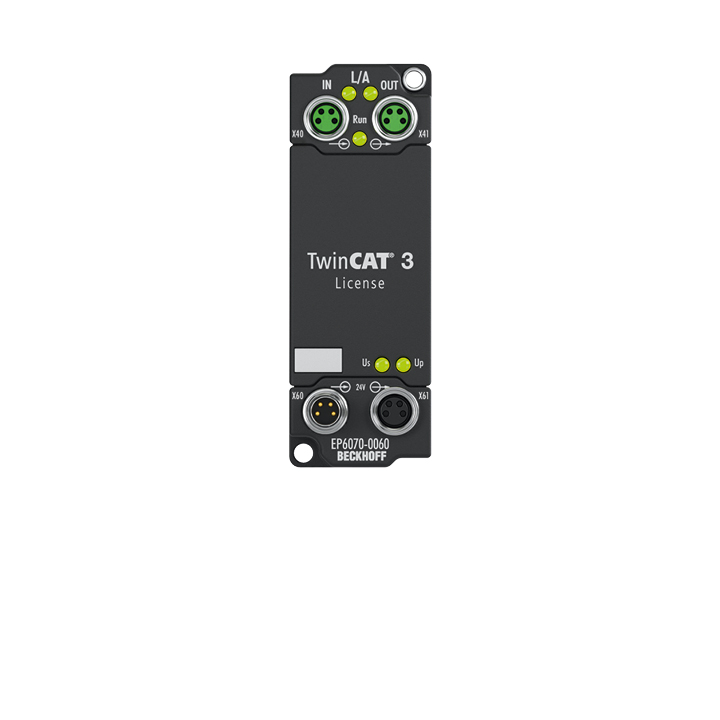 EP6070-0060 | License key module for TwinCAT 3.1