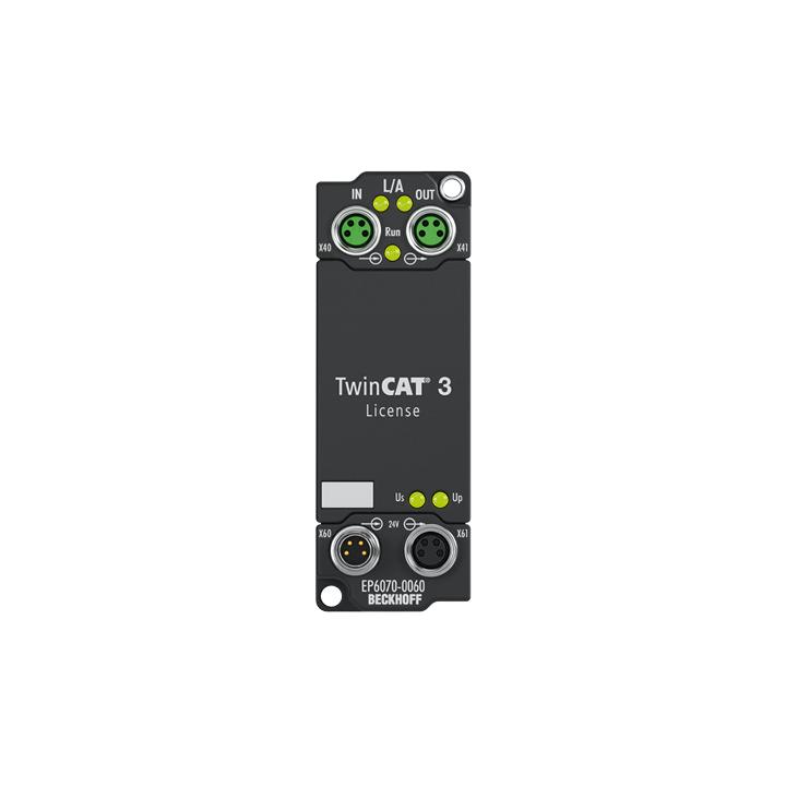 EP6070-0060 | EtherCAT Box, License key for TwinCAT3.1
