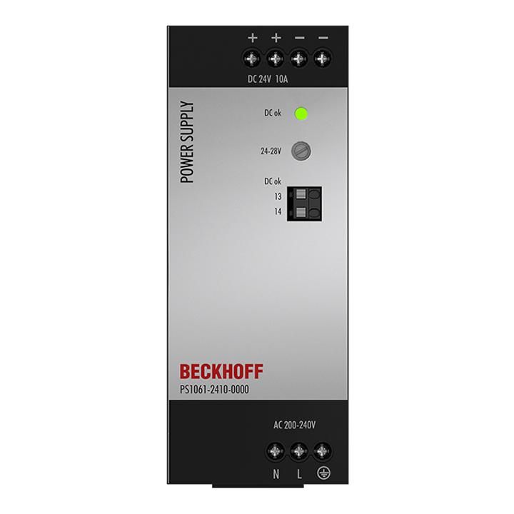 PS1061-2410-0000 | Stromversorgung PS1000; Ausgang: 24VDC, 10A; Eingang: AC200…240V, 1-phasig