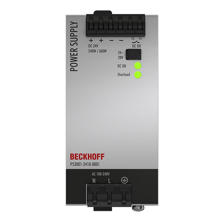 PS3001-2410-0001   Stromversorgung PS3000; Ausgang: 24VDC, 10A; Eingang: AC100…240V/DC110…150V, 1-phasig