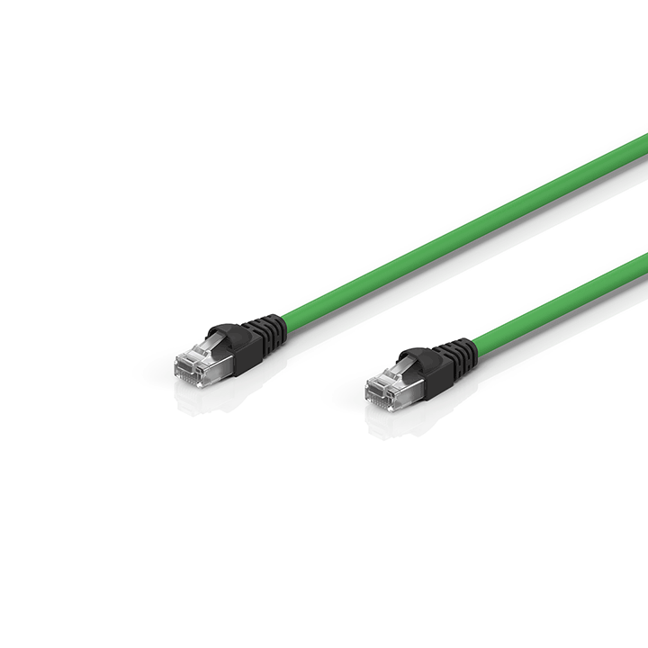 ZK1096-9191-0xxx | Industrial-Ethernet/EtherCAT patch cable, CAT6, PUR, 4 x 2 x AWG26, fixed installation