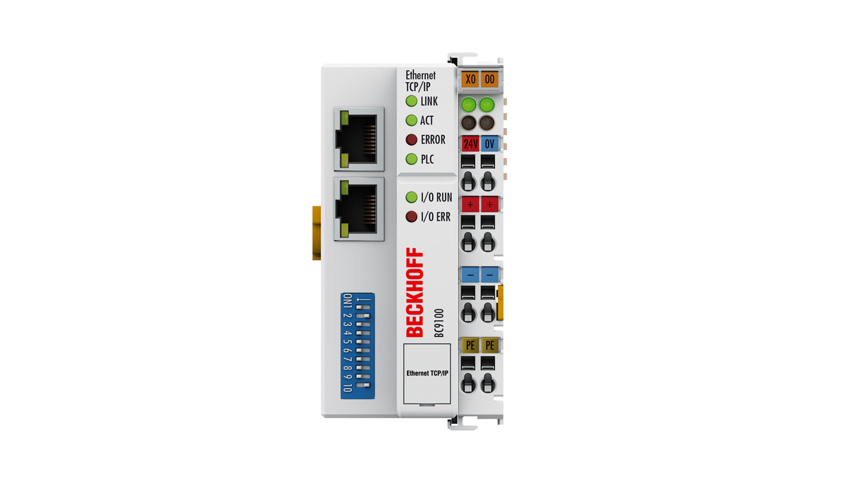 BC9100 | Ethernet-TCP/IP-Busklemmen-Controller