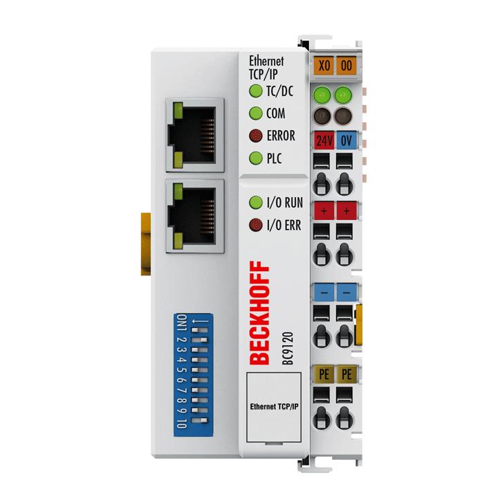 "BC9120 | Ethernet TCP/IP ""Economy plus"" Bus Terminal Controller"
