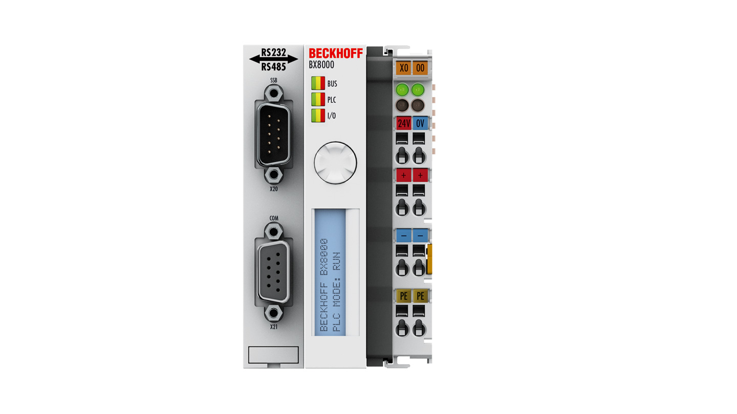 BX8000   RS232/RS485 Bus Terminal Controller