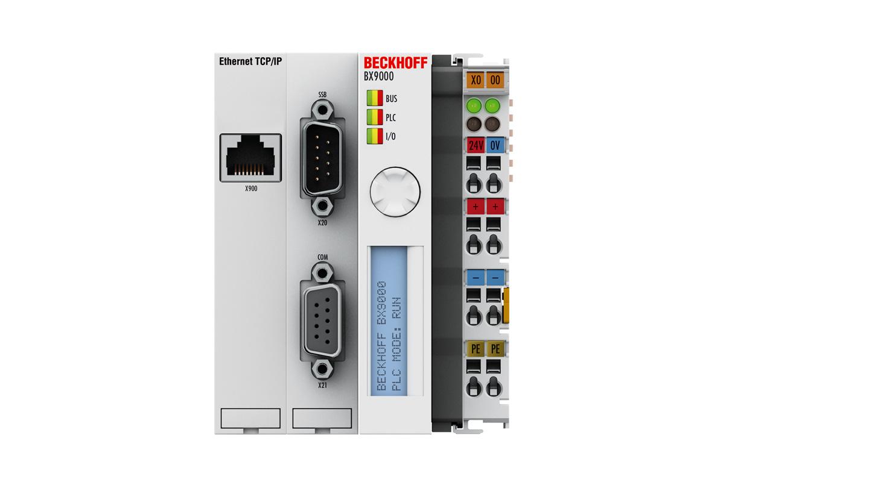 BX9000 | Ethernet TCP/IP Bus Terminal Controller