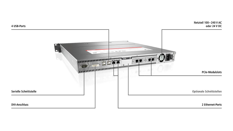 C5210 | 19-Zoll-Einschub-Industrie-PC