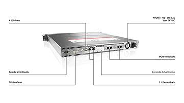 C5210-0030 | 19-Zoll-Einschub-Industrie-PC