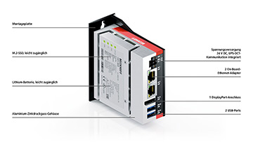 C6015 | Lüfterloser Ultra-Kompakt-Industrie-PC