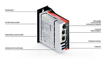 C6015 | Fanless ultra-compact Industrial PC