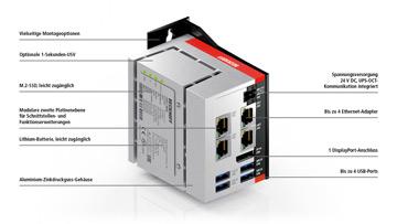 C6017 | Lüfterloser Ultra-Kompakt-Industrie-PC