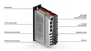 C6025 | Fanless ultra-compact Industrial PC