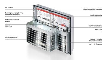 C6525-0050 | Lüfterloser Einbau-Industrie-PC