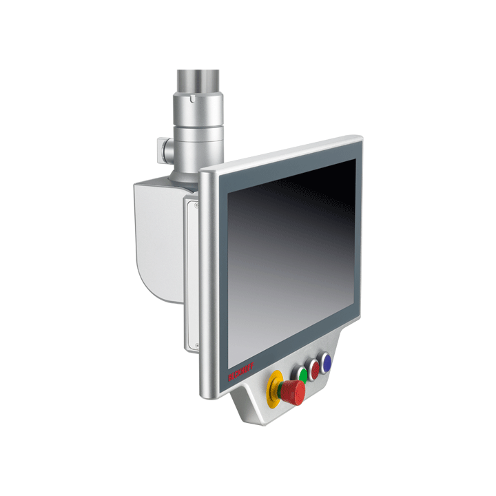 C9900-G05x | Compact push-button extension for landscape multi-touch CP39xx Control Panels and CP37xx-1600 Panel PCs