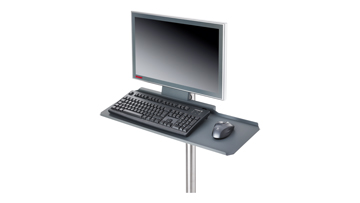 C9900-M423 | Keyboard and mouse shelf with integrated 2-port USB socket