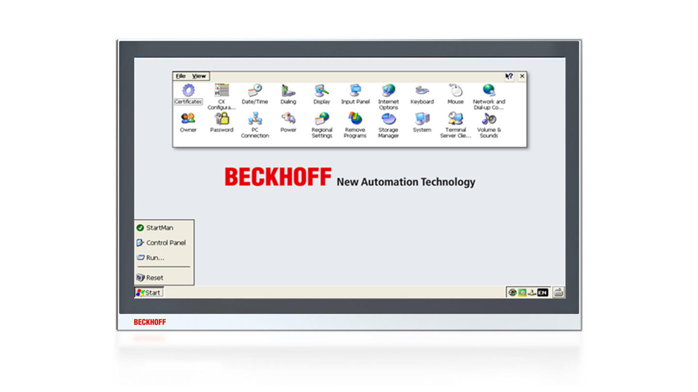 CXxxxx-011x | Windows Embedded Compact7 for Beckhoff Industrial PCs
