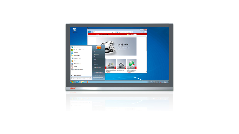 C9900-S44x, C9900-S45x | Windows 7 for Beckhoff Industrial PCs