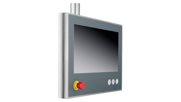 CP39xx-1401-0010 | Stainless steel multi-touch Control Panel with CP-Link 4 – The One Cable Display Link