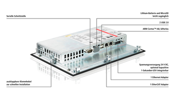 "CP6600-0001-0020 | 10,1-Zoll-""Economy""-Panel-PC"