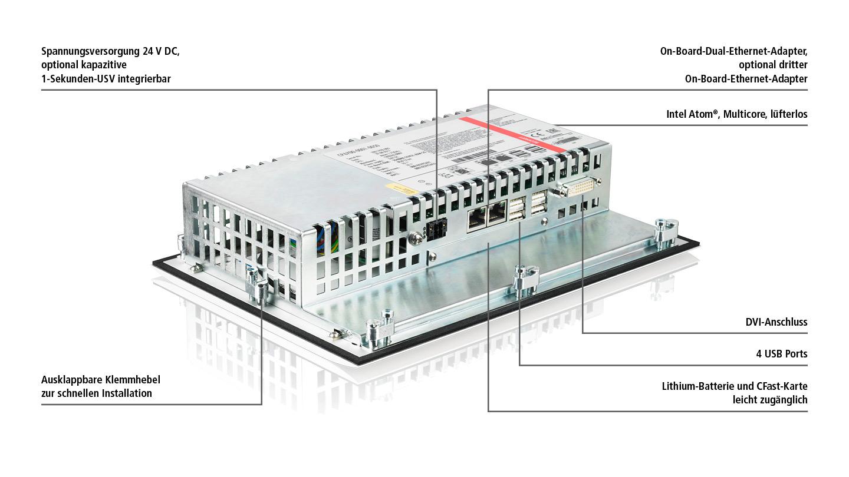 "CP6700-0001-0060   10,1-Zoll-""Economy""-Panel-PC"