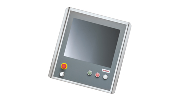 CP7903-1401-0000   Stainless steel Control Panel in IP 65 with 19-inch display, customer-specific variant