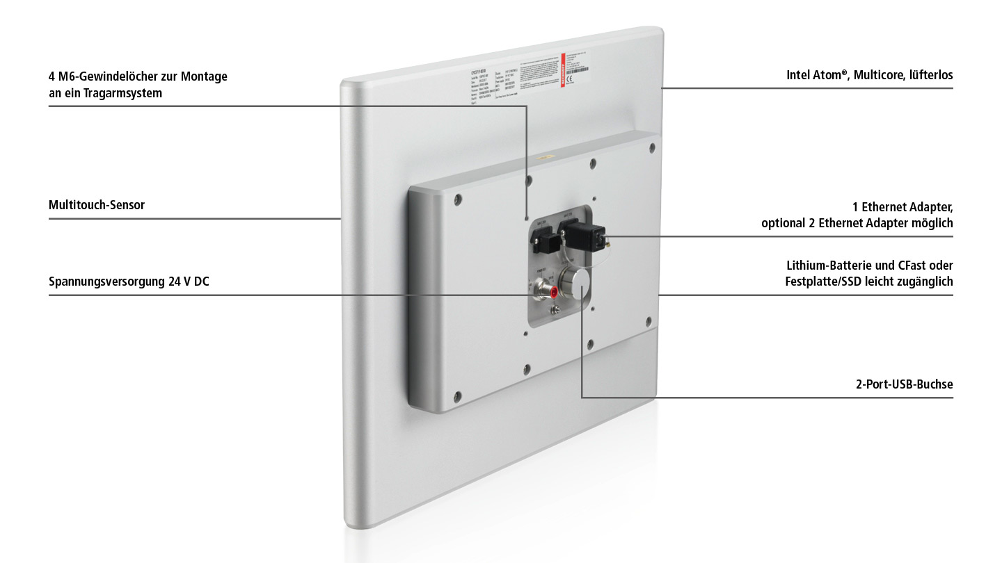 CPX37xx-0010 | Multitouch-Panel-PC