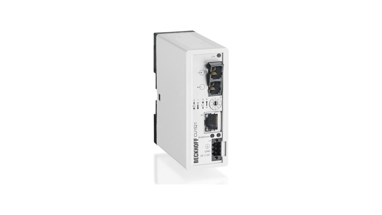 CU1521 | EtherCAT media converter fibre optic