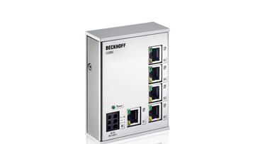 CU2005   5-port switch, Ethernet, 100MBit/s