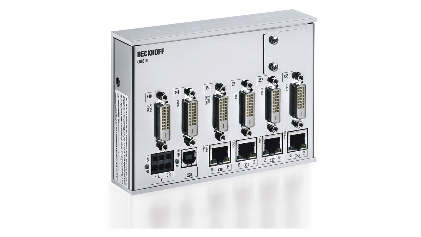 CU8810 | DVI splitter with USB extender for CP69xx and CP79xx