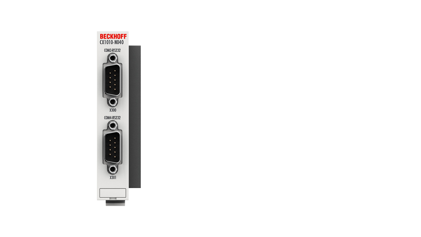 CX1010-N040   System interfaces