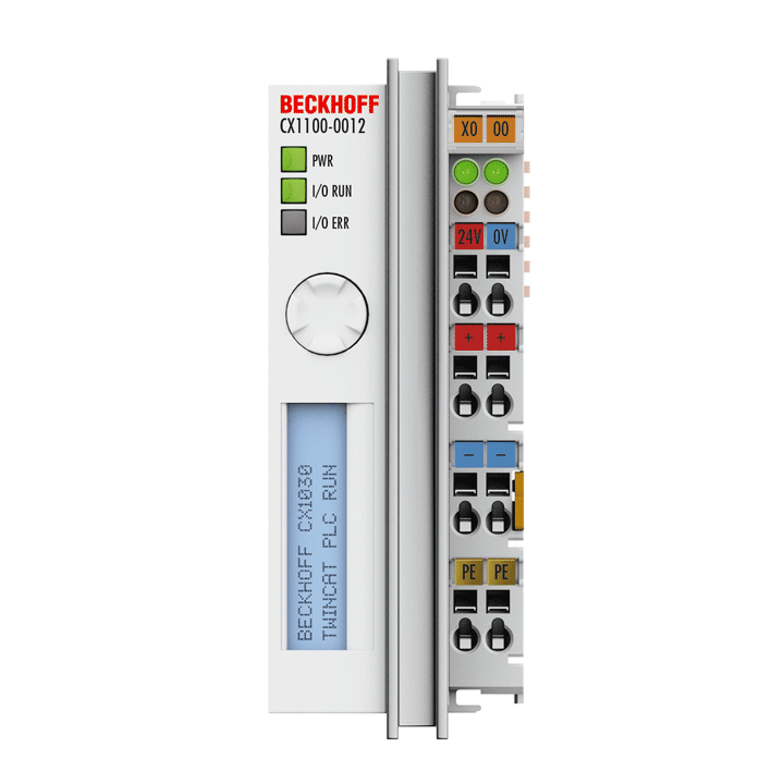 CX1100-0012 | Power supply units and I/O interfaces for CX1030