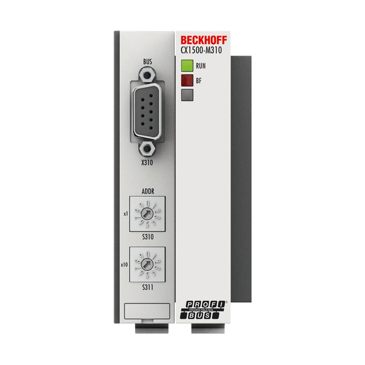 CX1500-M310 | PROFIBUS master fieldbus connection