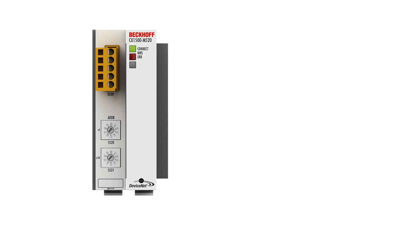 CX1500-M520 | DeviceNet master fieldbus connection