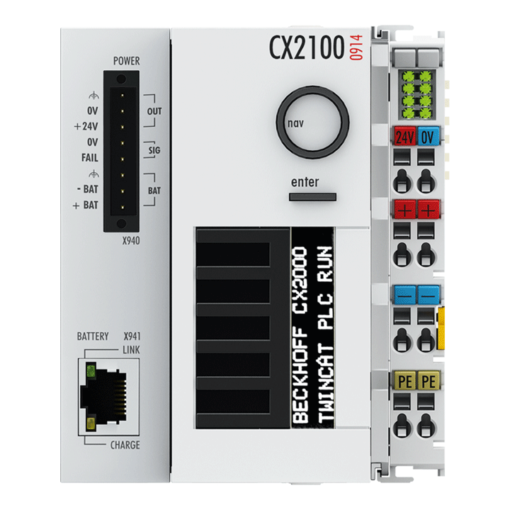 CX2100-0914 | Power supply unit for external UPS for CX20xx