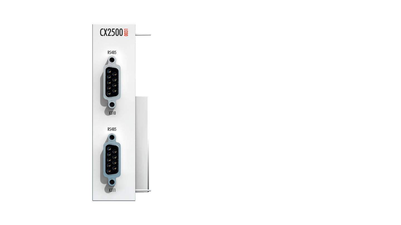 CX2500-0031 | Serielle Schnittstelle RS485/RS422 für CX20xx, CX52xx