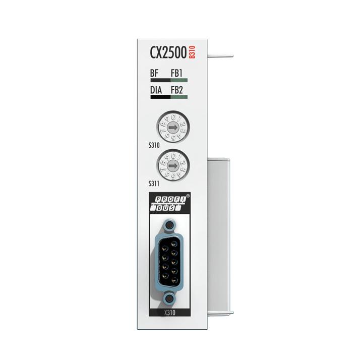 CX2500-B310 | Fieldbus slave module PROFIBUS for CX20xx, CX52xx