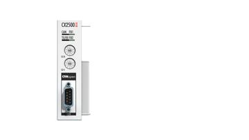 CX2500-B510 | Fieldbus slave module CANopen for CX20xx, CX52xx