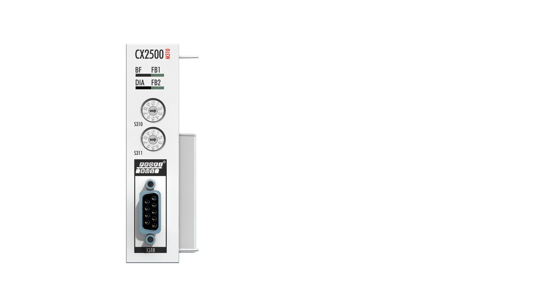 CX2500-M310 | Feldbusmaster-Modul PROFIBUS für CX20xx, CX52xx