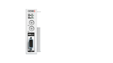CX2500-M510 | Fieldbus master module CANopen for CX20xx, CX52xx