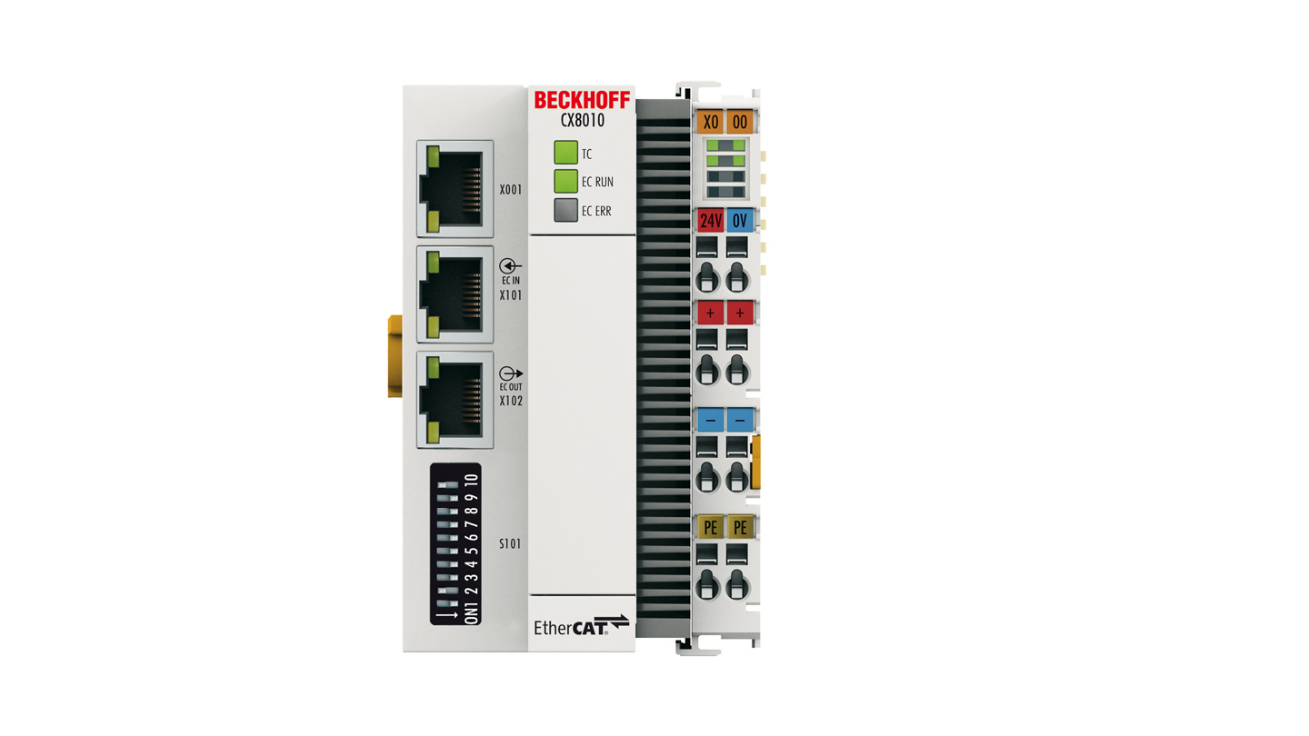 CX8010 | Embedded PC with EtherCAT slave
