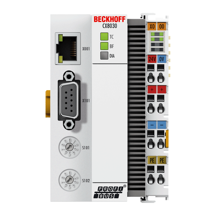 CX8030 | Embedded PC with PROFIBUS master