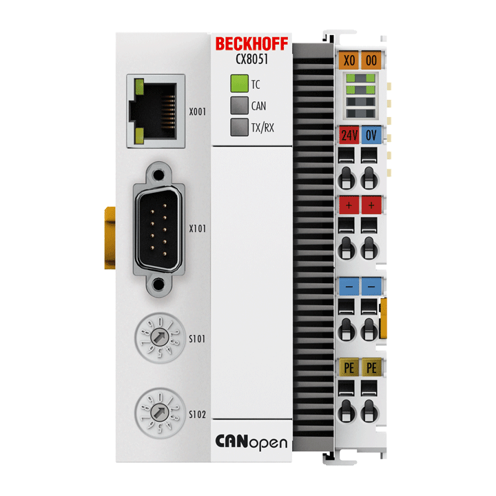 CX8051 | Embedded PC with CANopen slave